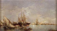The Port of Valencia - Joaquín Sorolla