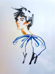 draw, fashion illustration