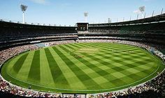 The Melbourne Cricket ground has a capacity of 100,000 compared to 28,000-29,000 at Lord's.