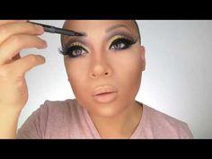 ▶ Beat Your Face II- Drag Makeup Tutorial - YouTube, Vivienne Pinay