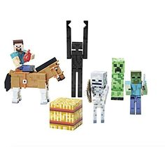 Minecraft Series #2 Gift Pack - Overworld Steve, Horse and Complete Hostile Mobs Pack Minecraft http://www.amazon.com/dp/B00OHR48YG/ref=cm_sw_r_pi_dp_X9pIub01Y4MQH