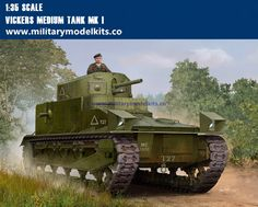 Vickers Medium Tank MK I Trumpeter 83878