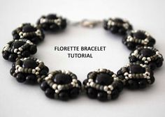 Tutorial: Florette Bracelet  Bead Weaving Tutorial Personal
