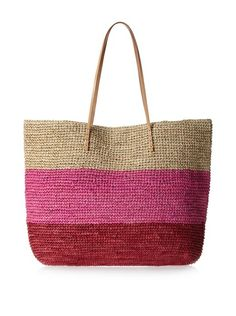 Buji Baja Women's Broad Stripe Tote, Red Combo, Just $40 after 20% off code today! http://www.myhabit.com/redirect/ref=qd_sw_dp_pi_li?url=http%3A%2F%2Fwww.myhabit.com%2Fdp%2FB00HJO6DW4