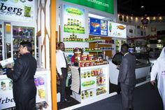 Visitors on our stand @GulFood. #GulFood2014