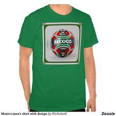 Mexico men's shirt with design