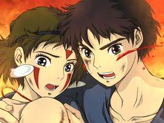 戦   emi [pixiv] Studio Ghibli Characters, Studio Ghibli Movies, Totoro, Anime Guys, Manga Anime, Tomb Raider Cosplay, Film D'animation, Manga Artist, Bleach Anime