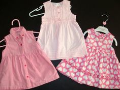 You will receive a lot of 100 pieces of clothes and shoes for boys and girls    Sizes included: Preemie, Newborn, 0-3, 3-6, 6-9, 12, 18, 24 months,  2T, 3T and 4T for boys and girls      All gently used!      All items are in excellent to like new condition,  no holes, stains or excessive use