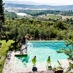 Check out this slideshow Heaven in Tuscany in this list 16 Experiences That Will Melt Stress