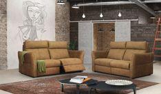 A Watford kanapé, illetve fotel széles ülésekkel, kényelmes háttámlákkal és oldalán díszített karfákkal rendelkezik, így a mindennapi pihenés még kellemesebbé válik. Ezt az elegáns modellt a modern stílus és a nem szabványos megoldások szerelmeseinek szenteltük. AWatford ülőgarnitúramodern formavezetését a maximális kényelemmel kombináltuk. A modell rendelhető elektromos relax funkcióval is Watford, Relax, Couch, Modern, Furniture, Home Decor, Settee, Trendy Tree, Decoration Home
