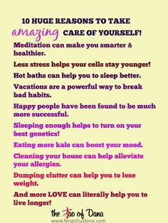 10 Huge Benefits Of Self Care!