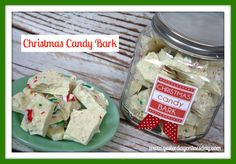 Christmas Candy Bark Gift Idea