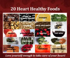 20 #Heart Friendly Foods