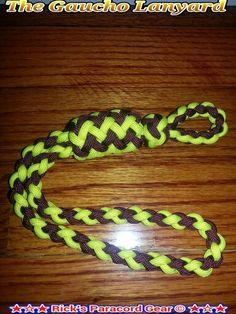 The Paracord Gaucho Lanyard