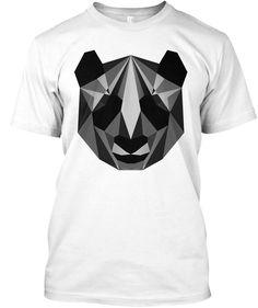 Tshirt Designer   Panda Edition White T-Shirt Front
