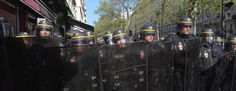 French police will be staging a protest against the level of brutality they are receiving from members of the public.