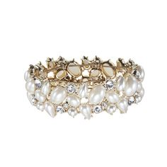 Goes perfectly with our Pearly Rapture Necklace, cream white #pearls