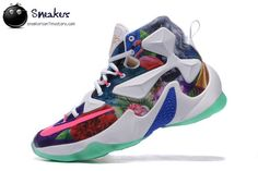 Wholesale Price 2015 New Arrival Nike Lebron XIII Flowers Outlet Mens Sneakers