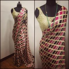 Geometric print pure crepe saree To purchase this product mail us at houseof2@live.com  or whatsapp us on +919833411702 for further detail #sari #saree #sarees #sareeday #sareelove #sequin #silver #traditional #ThePhotoDiary #traditionalwear #india #indian #instagood #indianwear #indooutfits #lacenet #fashion #fashion #fashionblogger #print #houseof2 #indianbride #indianwedding #indianfashion #bride #indianfashionblogger #indianstyle #indianfashion #banarasi #banarasisaree