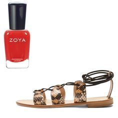 The Prettiest Nail Polish and Sandal Combos to Wear All Summer Long