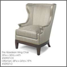 Find this and many other chair options for your design project at Ernest Gaspard & Associates | Atlanta, GA