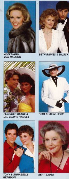 Guiding Light promotional brochure, mid-1980s
