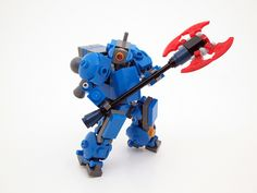Cobalt Legion - Extra Weapons - Power Axe   Flickr - Photo Sharing!