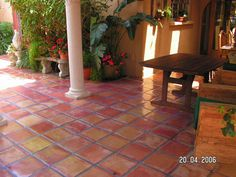 Mexican Tile Patio | To see our new 2012 Ceramic Tile from Shaw, click here !