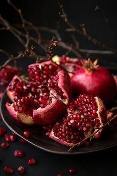 consejos de belleza y salud: La Granada y sus beneficios para el corazón #granada #frutas #antioxidantes