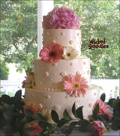 Wedding Cake Design by Wicked Goodies by The Official Wicked Goodies, via Flickr