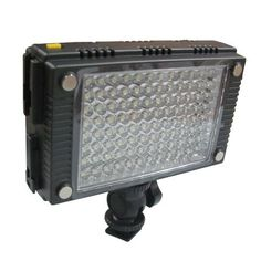 New HDV-Z96 96 LED Light For EOS 5D II 7D 550D Lighting by Crazy Cart. $69.48. Features: 1. 100% brand new and high quality 2. Compatible   with 2 kinds of batteries (not included): Sony L Series DV Rechargeable   Li-Ion battery (e.g. F550, F750, F970) AA-type Battery 3. Ultra life time   power LED (average 30000 hours) 4. Standard daylight (standard color   temperature 5600K) 5. A flicker free light and has a rear facing dimmer knob   that can be adjusted from 2...
