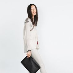 Image 2 of BAG WITH STRAP from Zara