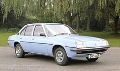 1975: Vauxhall Cavalier MK1. My dad had one of these. I can remember my parents banging on about how it took '4 star' petrol!