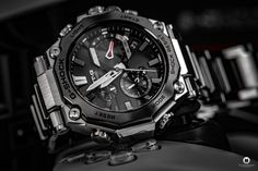 Casio released the latest generation of its G-SHOCK MTG-B2000D-1AER series, which I was now allowed to test as MTG-B2000D 1AER. Casio G-shock, Watch Blog, Latest Generation, Mtg, Luxury Watches, Fire Department, Watch
