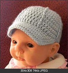 newborn ball cap pattern