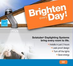 Brighten dark rooms with a Solatube Daylighting System from Hometech Solatube Bay of Plenty.    Call us on 0800 SOLA2B (765 222)