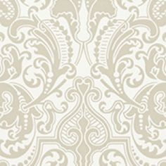 Ralph Lauren behang, Gwynne damask laurel