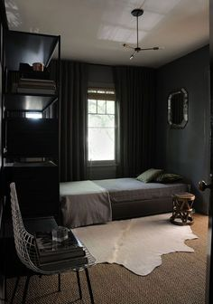 dark bedroom decor inspiration / sfgirlbybay