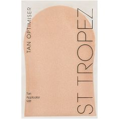 St. Tropez Tan Applicator Mitt (8.78 CAD) ❤ liked on Polyvore featuring beauty products, bath & body products, sun care and no color