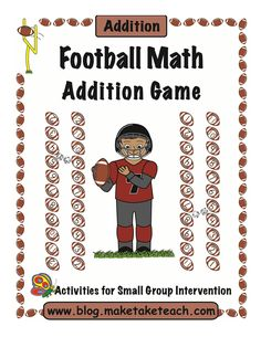 Ready for Some Football? Fun addition freebie for Super Bowl week