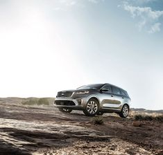 The Kia Sorento conquers real and perceived mountains in the new marketing campaign. Conquer your life hurdles in one of the highest ranked midsize SUV's in Initial Quality according to J. Kia Sorento, Kia Sportage, Best 3rd Row Suv, Most Reliable Suv, Suv Comparison, Toyota Rav4 Hybrid, Mid Size Suv, Kia Motors, Small Suv