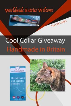 Tired of cheap and short lived cat collars that fall apart, fray, and drive you crazy? We can help! Let us introduce a quality British company that reaches around the world, and who want your cat to have the BEST of everything.