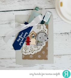 Tsuruta Designs: Reverse Confetti November Blog Hop! Ruff Day