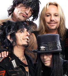 Mötley Crüe on The Tonight Show Starring Jimmy Fallon Hair Metal Bands, 80s Hair Bands, Nikki Sixx, Rock N Roll, Mick Mars, Vince Neil, Tommy Lee, Heavy Metal Music, Rock Legends