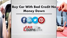 Buying a Car with no Money Down and Bad Credit