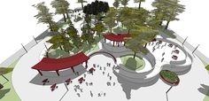 CC_UI Arq. Urbana_Proyect Diseño espacio público_201602 on Los Andes Portfolios Urban Landscape, Landscape Design, Behance, Branding, Architecture, Holiday Decor, Creative, Illustration, Projects