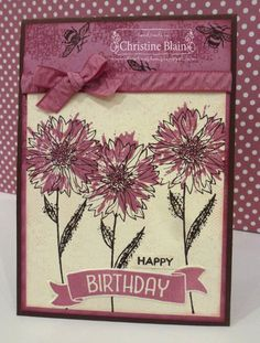 HAPPY HEART CARDS: JAI #322: STAMPIN' UP! TOUCHES OF TEXTURE