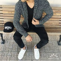 "Street Style Men Fashion on Instagram: ""Amazing streetwear inspiration by our friend @ozanerdogan7 ☺ """