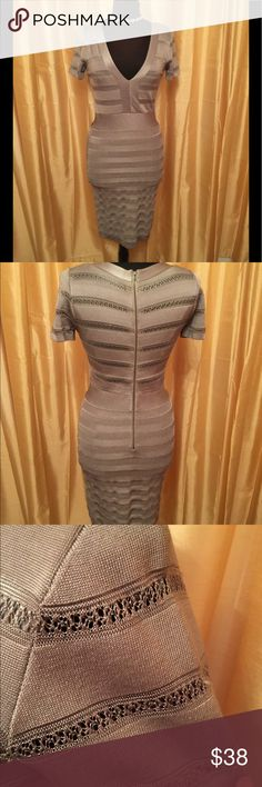 Size 8 grey French connection dress Size 8 grey French connection dress!  The tags of the dress fell off however purchased for $280 from Macy's  Worn once French Connection Dresses