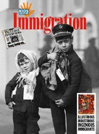 Immigration - KIDS DISCOVER. This site has a great lesson plan for students about immigration. It depicts an interactive news paper that students can read and understand about immigration. The paper has great pictures to really set the lesson off.